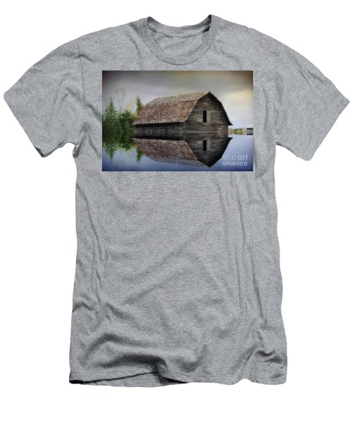 Flooded Barn Men's T-Shirt (Athletic Fit)