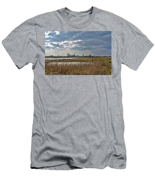 Floodplains Near Culemborg Men's T-Shirt (Athletic Fit)