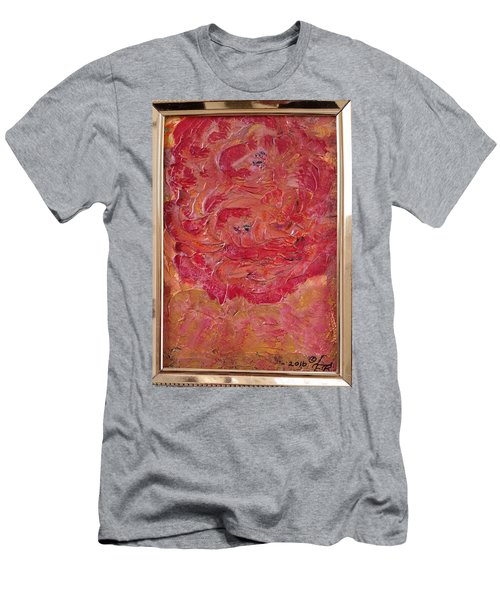 Floral Abstract 1 Men's T-Shirt (Athletic Fit)