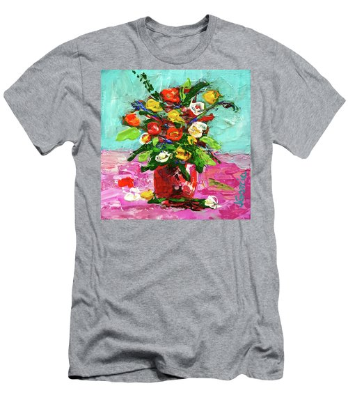 Floral Arrangement Men's T-Shirt (Athletic Fit)