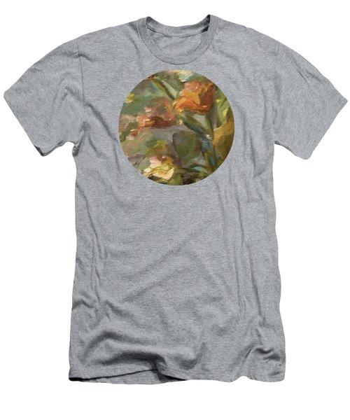 Floral Bouquet Men's T-Shirt (Athletic Fit)