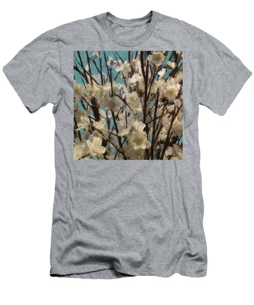 Floral02 Men's T-Shirt (Athletic Fit)