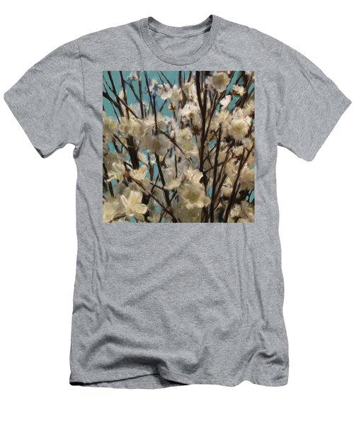 Floral02 Men's T-Shirt (Athletic Fit)