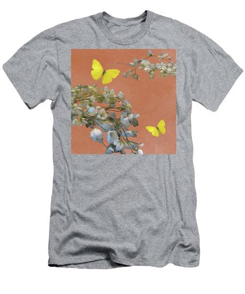 Floral06 Men's T-Shirt (Athletic Fit)