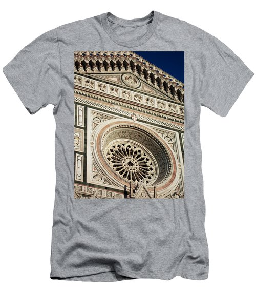 Men's T-Shirt (Slim Fit) featuring the photograph Florence by Silvia Bruno