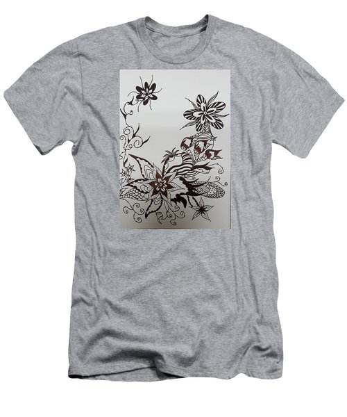 Flower 9 Men's T-Shirt (Athletic Fit)