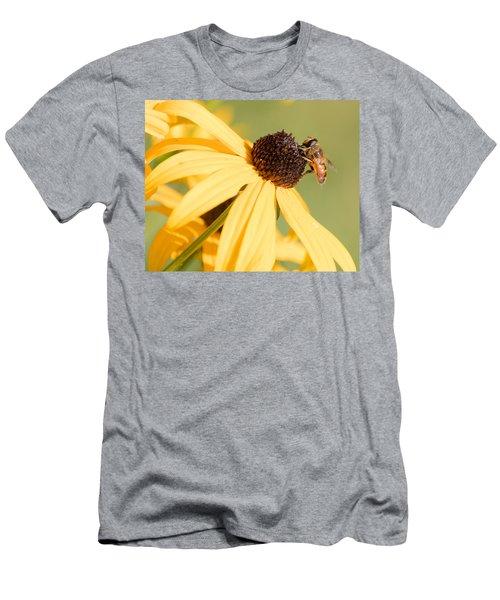 Flower Fly Men's T-Shirt (Athletic Fit)