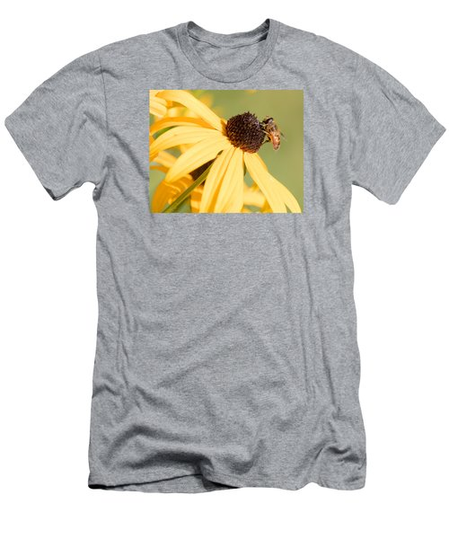 Flower Fly Men's T-Shirt (Athletic Fit)