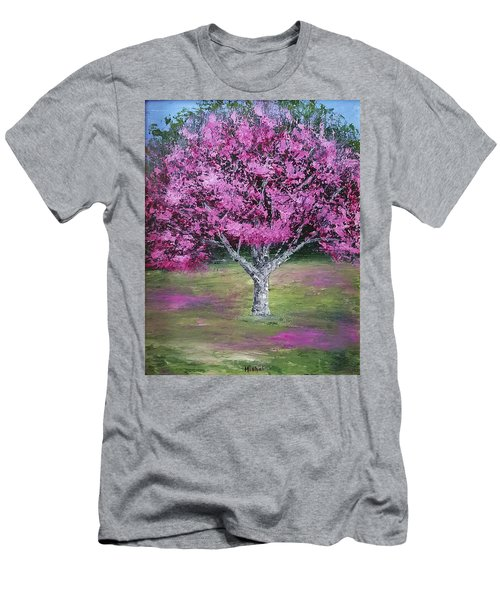 Flowering Tree Men's T-Shirt (Athletic Fit)