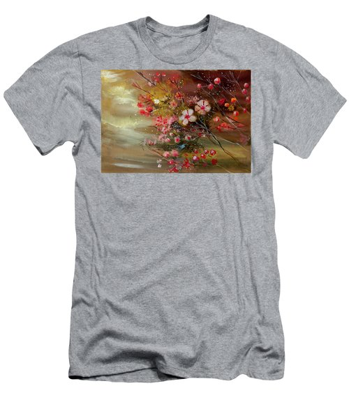 Flowers 2 Men's T-Shirt (Athletic Fit)