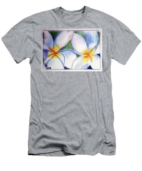 Flowers 3452 Men's T-Shirt (Slim Fit) by Loretta Nash