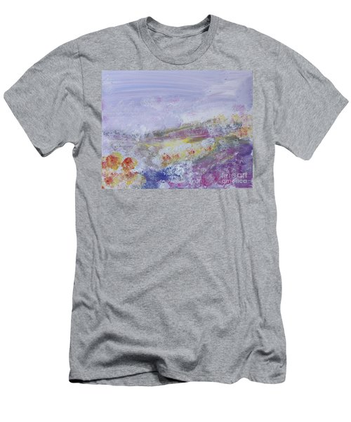 Flowers In The Ether Men's T-Shirt (Athletic Fit)