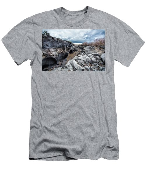 Flowing To The Storm Idaho Journey Landscape Art By Kaylyn Franks Men's T-Shirt (Athletic Fit)