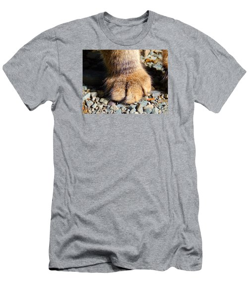 Fluffy Men's T-Shirt (Slim Fit) by Zinvolle Art