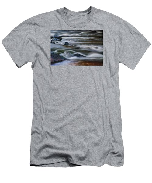 Men's T-Shirt (Slim Fit) featuring the photograph Fluid Motion by Steven Richardson