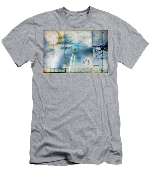 Flyboard - Freestyle Men's T-Shirt (Athletic Fit)