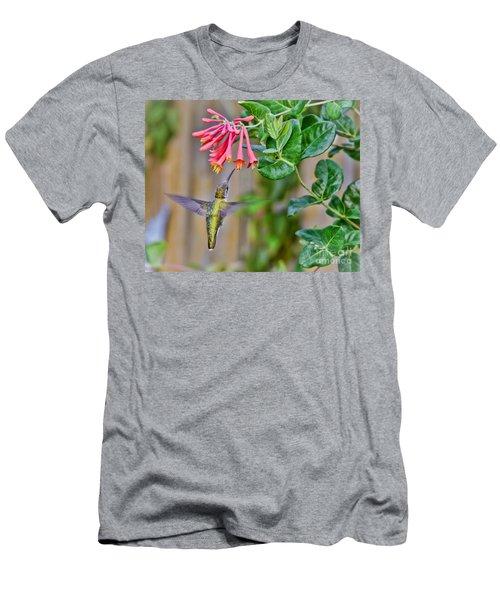 Flying Jewel Men's T-Shirt (Slim Fit) by Kerri Farley