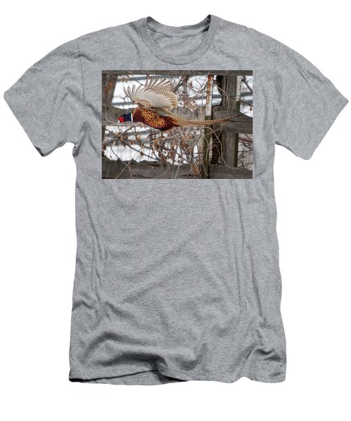 Flying Pheasant Men's T-Shirt (Athletic Fit)