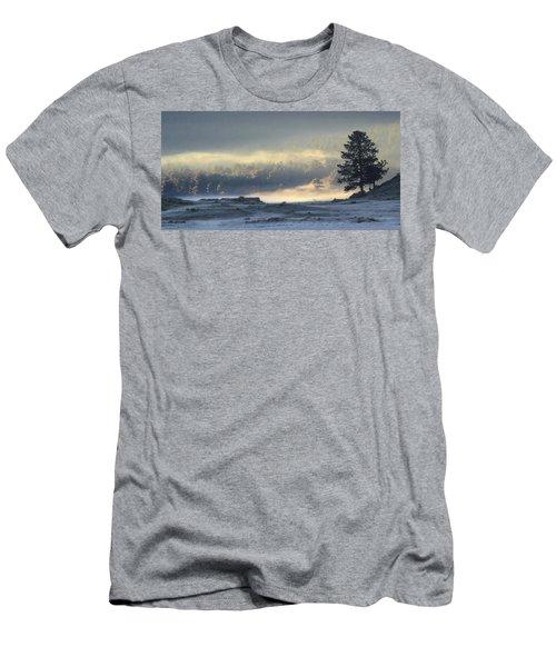 Fog At Sunrise Men's T-Shirt (Athletic Fit)