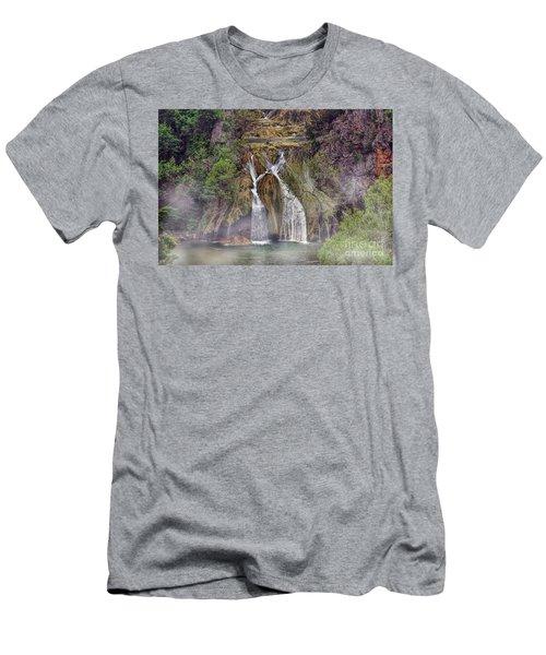 Fog Rolling In Men's T-Shirt (Slim Fit) by Joan Bertucci