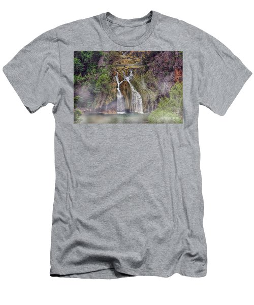 Fog Rolling In Men's T-Shirt (Athletic Fit)