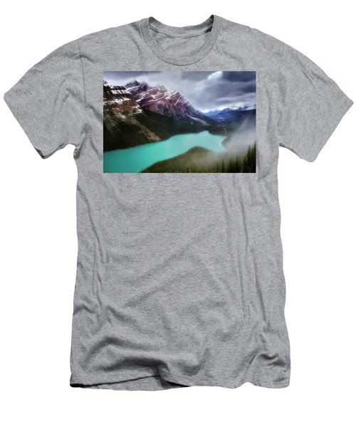 Fog Swirls Men's T-Shirt (Athletic Fit)