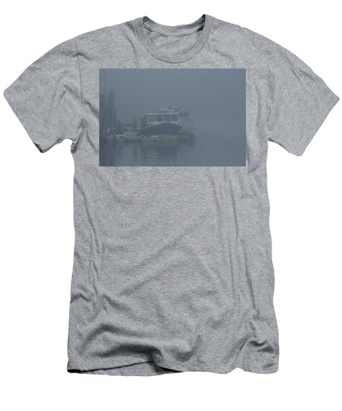 Fogged In At Owls Head Men's T-Shirt (Athletic Fit)