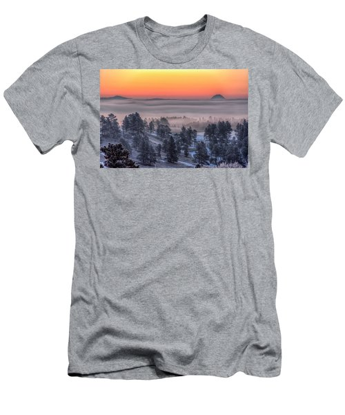 Foggy Dawn Men's T-Shirt (Athletic Fit)