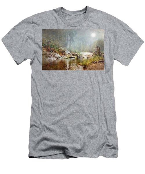 Foggy Fishin Hole Men's T-Shirt (Athletic Fit)