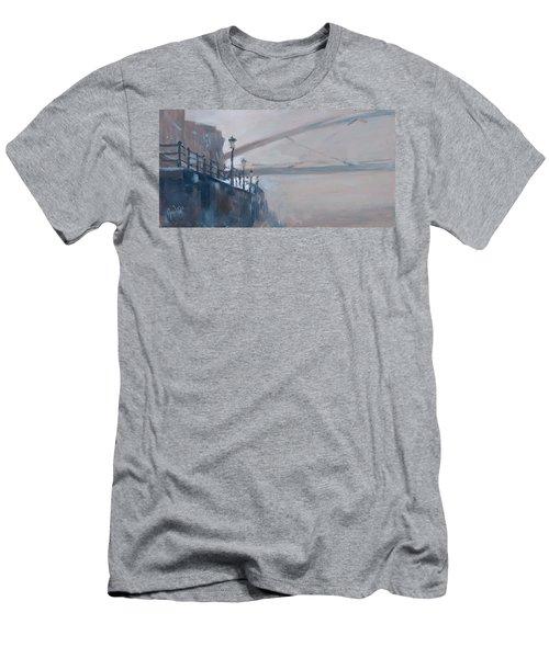 Foggy Hoeg Men's T-Shirt (Slim Fit) by Nop Briex