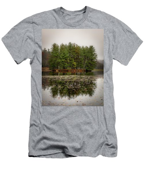 Foggy Island Reflections Men's T-Shirt (Athletic Fit)