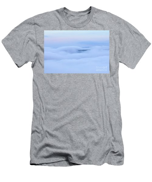 Men's T-Shirt (Athletic Fit) featuring the photograph Foggy Layers by Kerri Farley