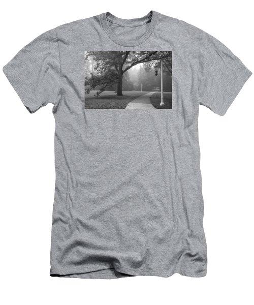 Foggy Msu Morning  Men's T-Shirt (Athletic Fit)