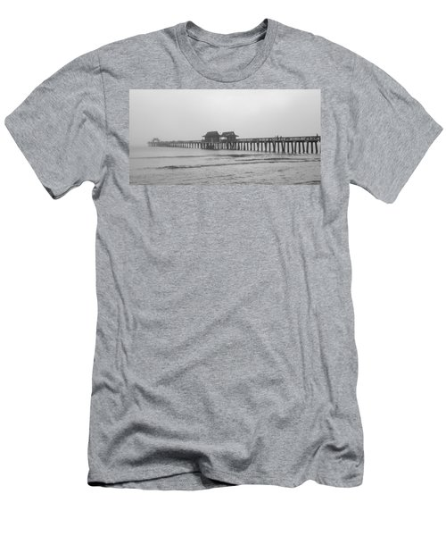 Foggy Pier Men's T-Shirt (Athletic Fit)