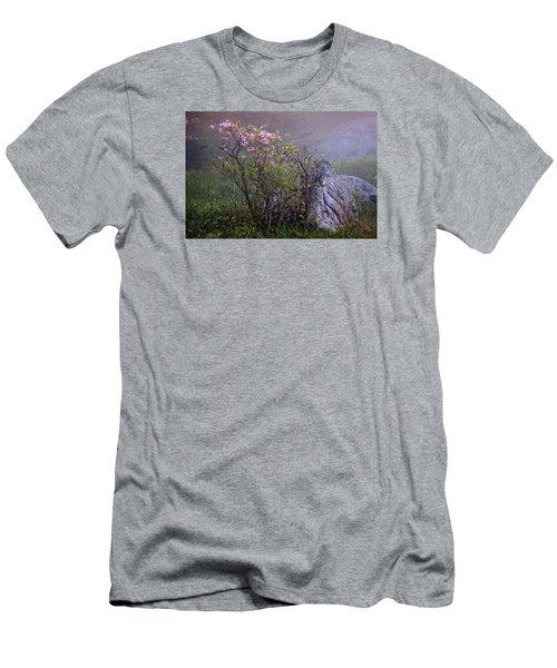 Foggy Pink Azalea Men's T-Shirt (Athletic Fit)