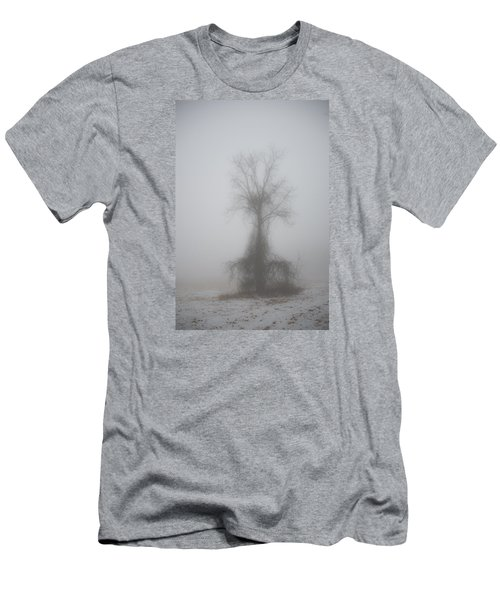 Foggy Walnut Men's T-Shirt (Athletic Fit)