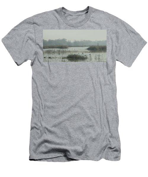 Foggy Wetlands Men's T-Shirt (Athletic Fit)