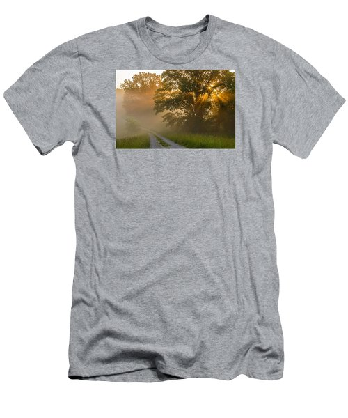 Fogy Summer Morning Men's T-Shirt (Athletic Fit)