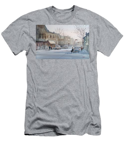 Fond Du Lac - Downtown Men's T-Shirt (Athletic Fit)