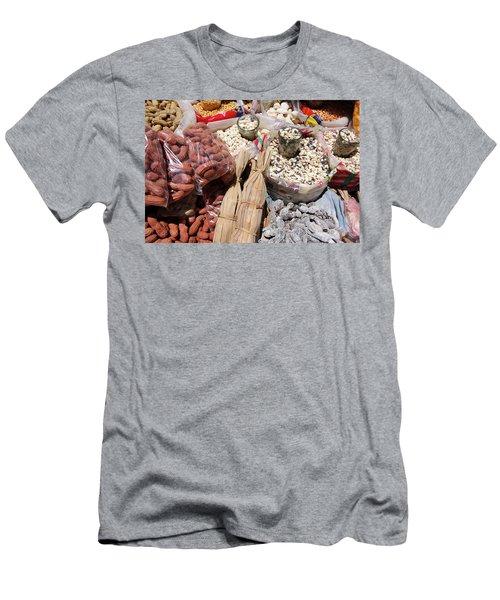 Food Market Men's T-Shirt (Slim Fit) by Aidan Moran