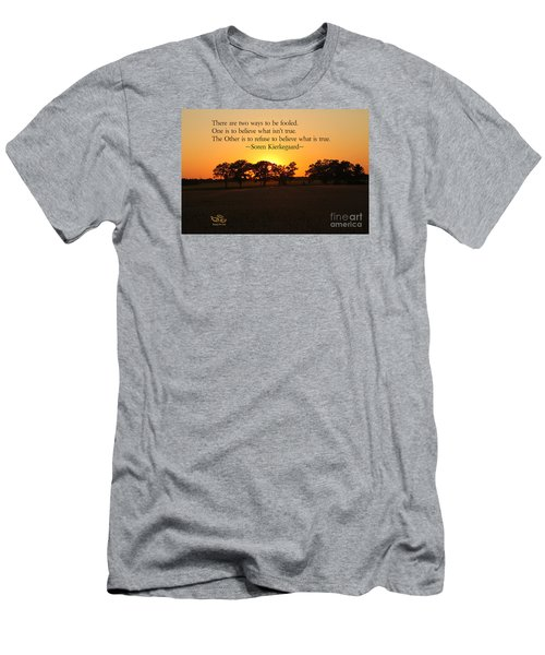 Men's T-Shirt (Athletic Fit) featuring the photograph Fooled by Beauty For God