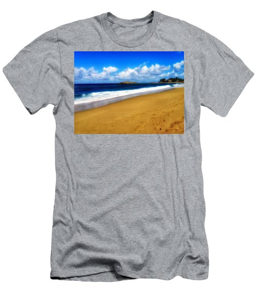 Foot Prints  Men's T-Shirt (Athletic Fit)