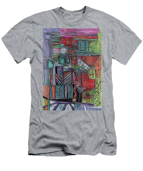 For Two Brothers Men's T-Shirt (Slim Fit) by Sandra Church