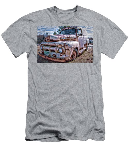 Ford Panel Truck Men's T-Shirt (Athletic Fit)
