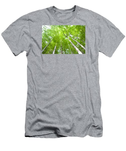 Men's T-Shirt (Slim Fit) featuring the photograph Forest 1 by Jean Bernard Roussilhe
