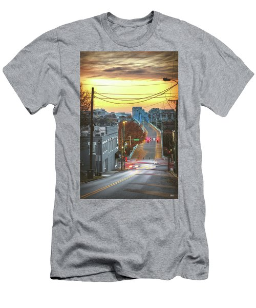 Forest And Frazier Men's T-Shirt (Slim Fit) by Steven Llorca