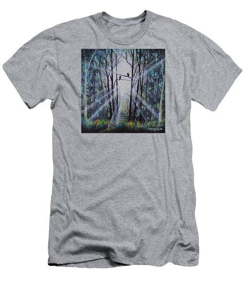 Forest Birds Men's T-Shirt (Athletic Fit)