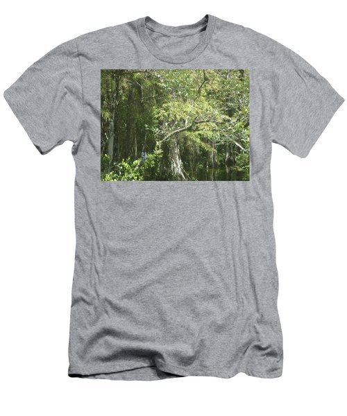 Forest On A Swamp Men's T-Shirt (Athletic Fit)