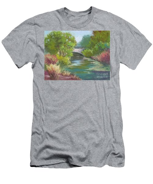 Forest Park Bridge Men's T-Shirt (Athletic Fit)