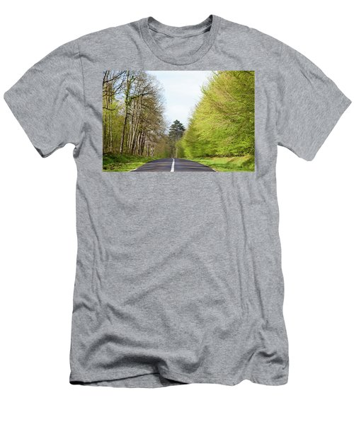 Forest Road Men's T-Shirt (Athletic Fit)